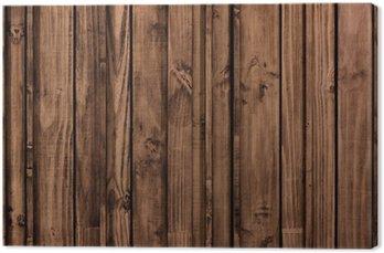 Tableau sur Toile Vieux panneaux de bois de grunge pour le fond