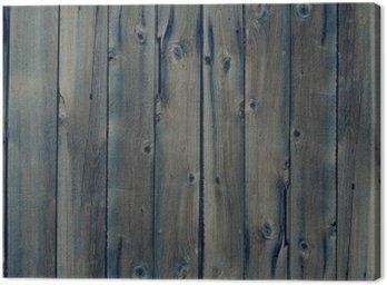 Tableau sur Toile Vintage fond en bois