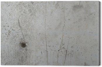 Tableau sur Toile Vintage grunge texture rugueuse détaillée mur en béton fond
