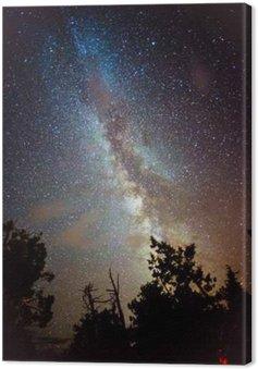 Tableau sur Toile Voie Lactée Rising sur la Californie