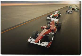 Tableau sur Toile Voiture F1