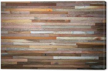 Tableau sur Toile Wood wall