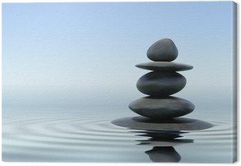 Tableau sur Toile Zen stones