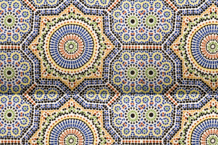 Vinyltapete Arabian Art - Marokko