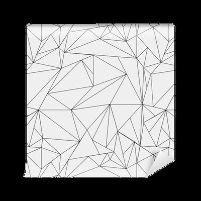 Tapete geometrische einfache schwarz wei minimalistische for Minimalist werden
