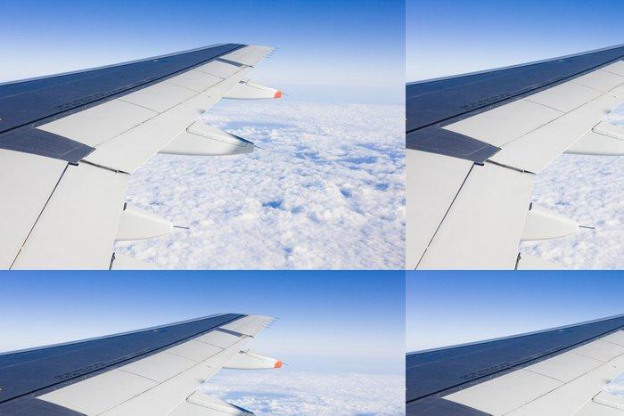 Vinyltapete Luftverkehr - Flugzeugs Flügel - Luftverkehr