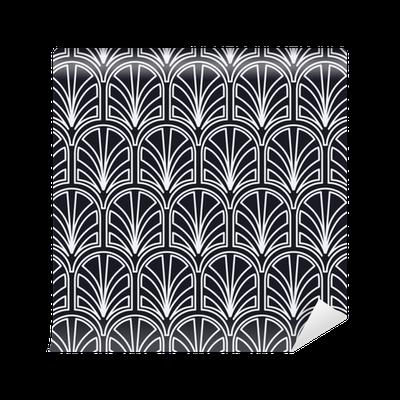 papier peint motifs nahtloses art deco muster der weinlese vorlage f r design vektor. Black Bedroom Furniture Sets. Home Design Ideas