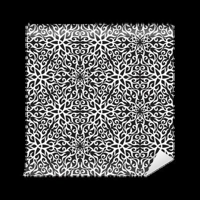 tapete schwarz wei abstrakten hand draw nahtlose muster pixers wir leben um zu ver ndern. Black Bedroom Furniture Sets. Home Design Ideas