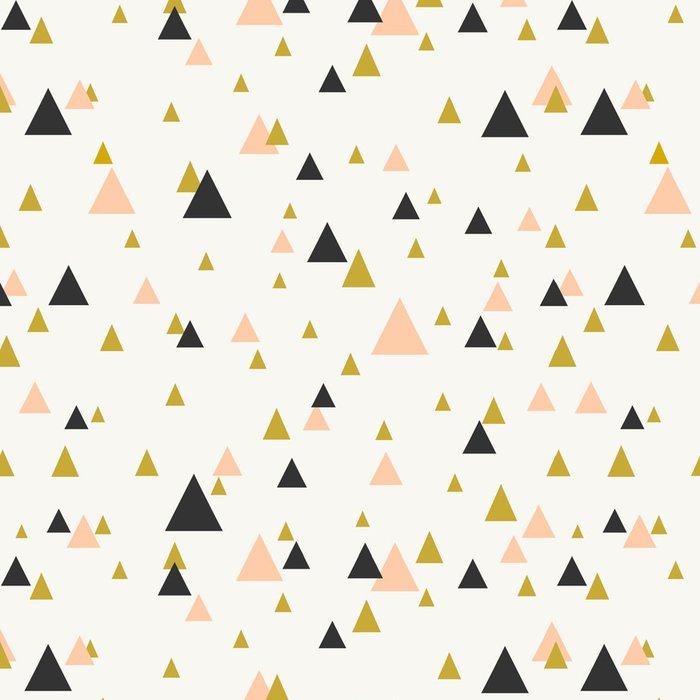 Pixerstick Tapet Abstrakt geometriska sömlösa mönster. - Teman