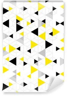 Vinyltapet Geometriska mönster bakgrund