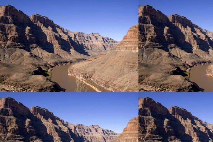 Vinyltapet Grand canyon - Utomhussport
