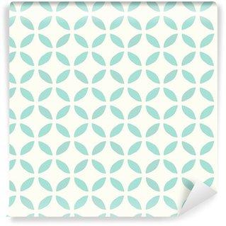Vinyltapet Seamless mönster. Handritad. Blomma. bakgrund design