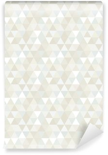 Vinyltapet Seamless Triangle Pattern, Background, Texture