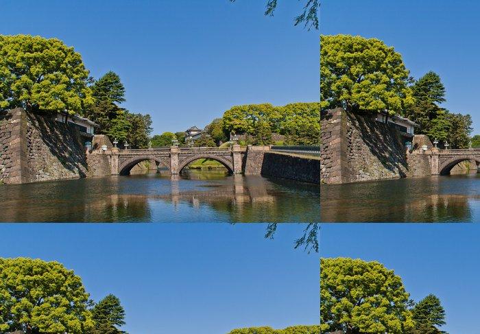 Tapeta Pixerstick 江 戸 城 の 伏 見 櫓 と 石橋 - Asie
