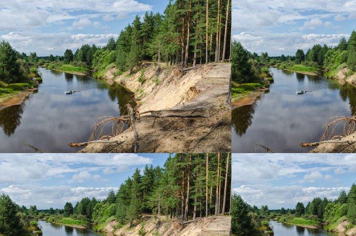 Tapeta Pixerstick Берега - Příroda a divočina