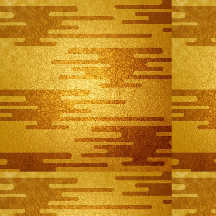 Vinylová Tapeta 和風 の 金箔 の 背景 - Asie
