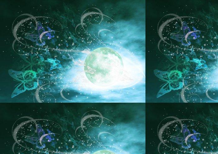 Tapeta Pixerstick 緑 の 夜 - Jiné pocity