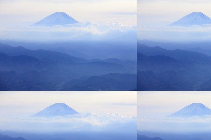Tapeta Pixerstick 初冬 の 富士 - Roční období