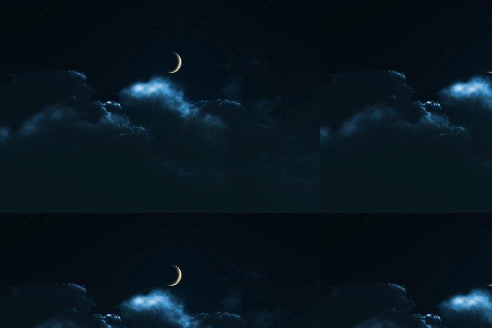 Tapeta Pixerstick 夜 の 月 - Značky a symboly