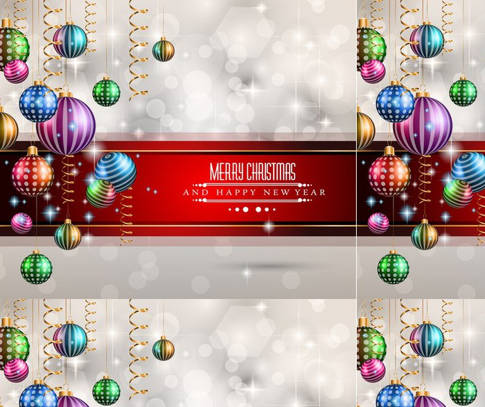 Tapeta Pixerstick 2015 Nový rok a Veselé Vánoce pozadí - Mezinárodní svátky
