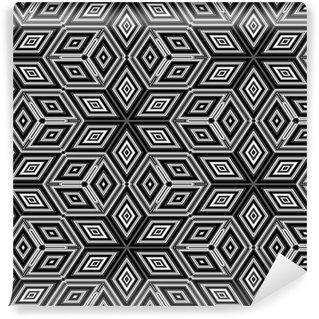 Tapeta Pixerstick 3d abstraktní kostky připomínající Escher obrázek
