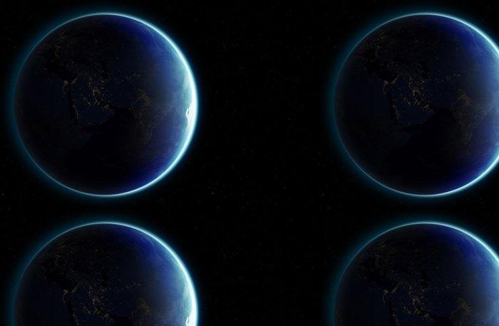 Tapeta Pixerstick 3D Planeta Země. Prvky tohoto obrázku zařízený NASA. Další - Meziplanetární prostor
