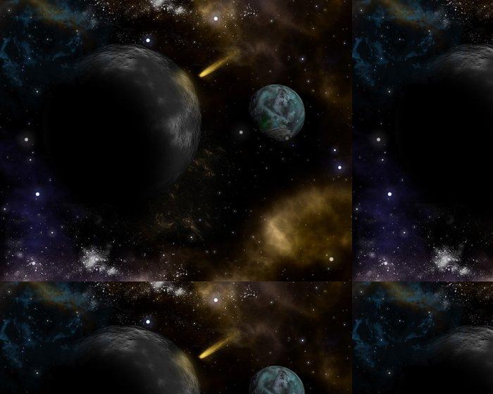 Tapeta Pixerstick 3D prostor pozadí - Meziplanetární prostor