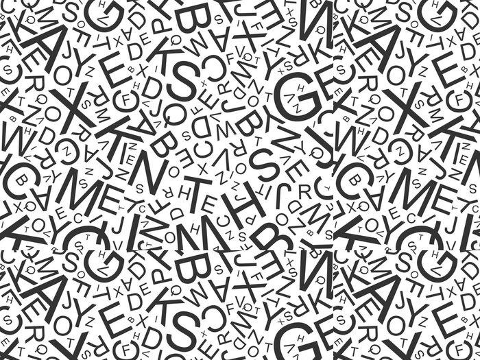 Tapeta Pixerstick ABC - Lettres - Témata