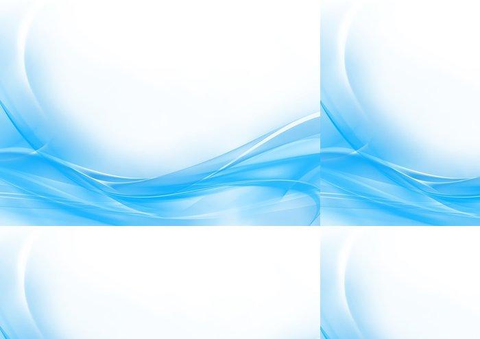 Tapeta Pixerstick Abstract pastelově modré a bílé pozadí - Pozadí