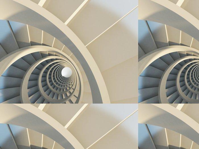 Vinylová Tapeta Abstract točité schodiště - Témata