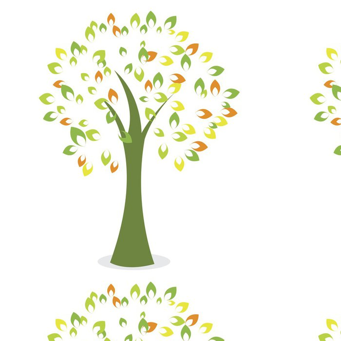 Tapeta Pixerstick Abstract tree - Stromy