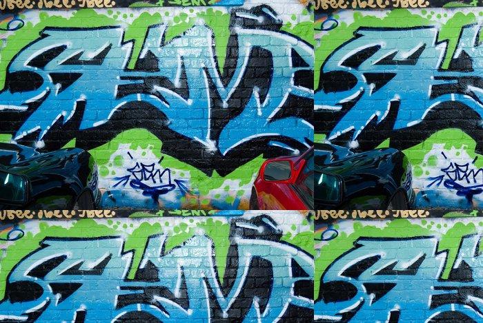 Tapeta Pixerstick Abstract Urban graffiti - Témata