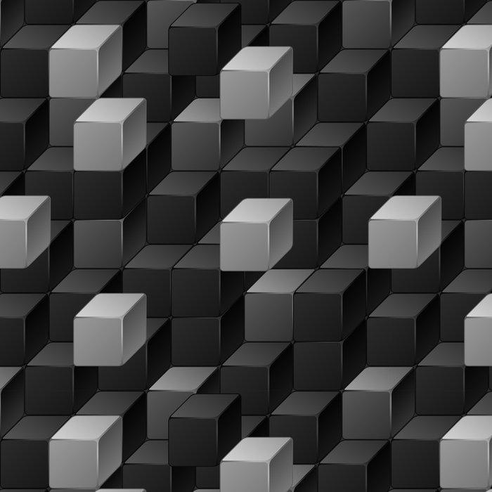 Vinylová Tapeta Abstrakt bezešvé vzor kostek. - Témata