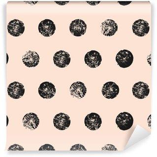 Vinylová Tapeta Abstrakt oblé tvary bezešvé vzor