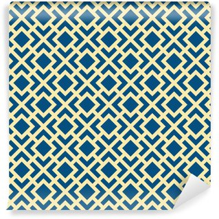 Vinylová Tapeta Abstrakt Seamless Geometrická Art Deco Mříž Vector Pattern