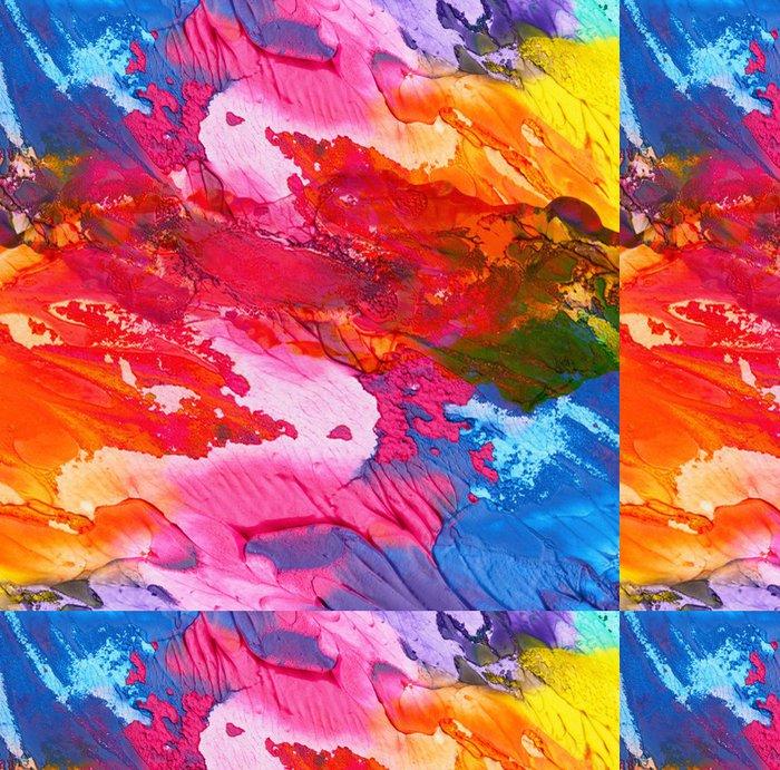 Vinylová Tapeta Abstraktní akrylové ručně malovaná pozadí -