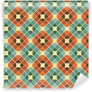 Vinylová Tapeta Abstraktní barevné dlaždice bezešvé vzor.