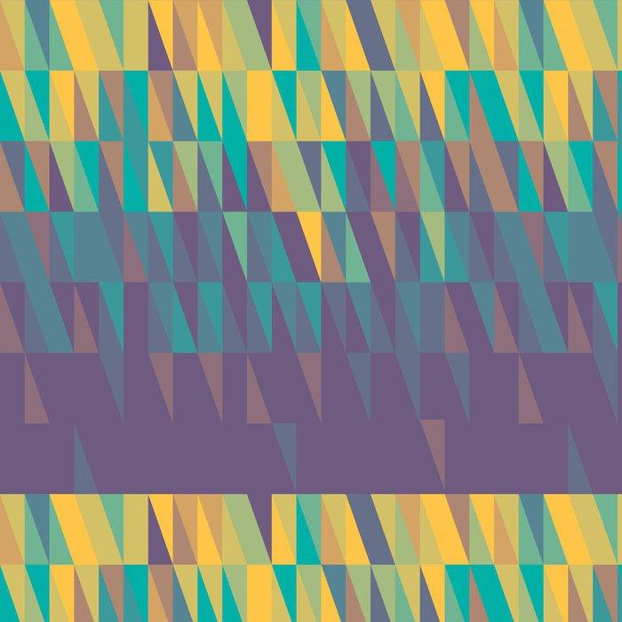 Tapeta Pixerstick Abstraktní barevný trojúhelník background- ilustrace - Témata