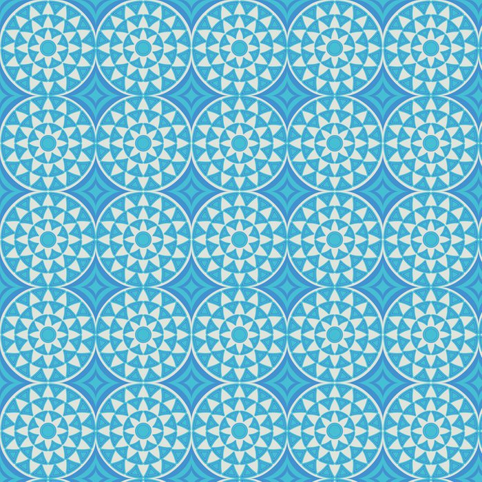 Tapeta Pixerstick Abstraktní dekorativní bezešvé vzor - Móda