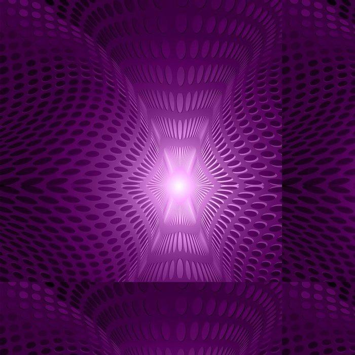 Tapeta Pixerstick Abstraktní fialová záře - Abstraktní