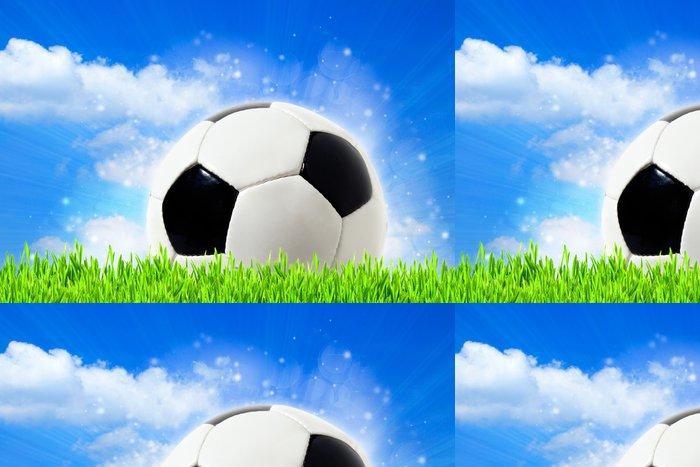 Tapeta Pixerstick Abstraktní fotbalové pozadí s bokeh krásy - Outdoorové sporty