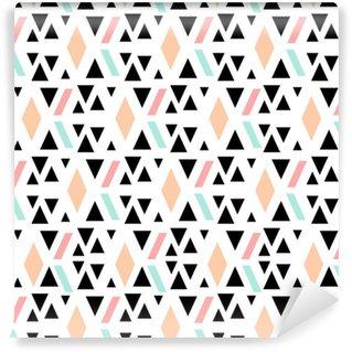 Tapeta Pixerstick Abstraktní geometrické bezešvé vzor.
