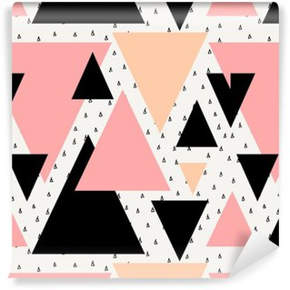 Vinylová Tapeta Abstraktní geometrické bezešvé vzor.