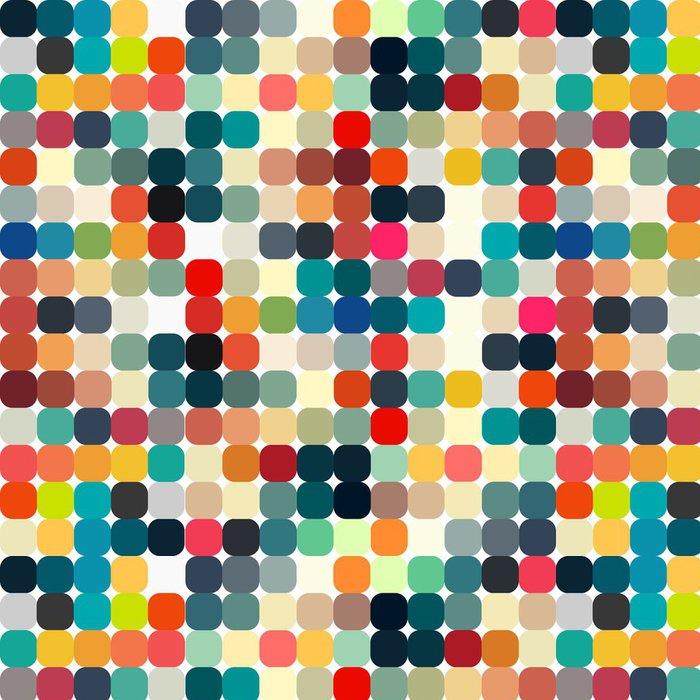 Vinylová Tapeta Abstraktní geometrické retro vzor bezešvé pro svůj design - Styly