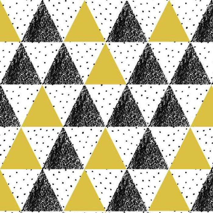 Tapeta Pixerstick Abstraktní geometrické vzor. - Grafika