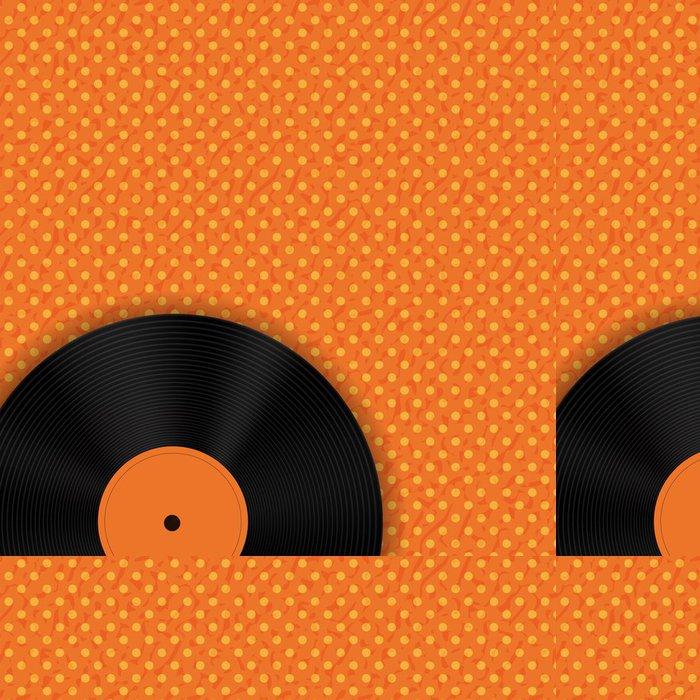 Vinylová Tapeta Abstraktní hudbu na pozadí vektorové ilustrace pro svůj design - Struktury