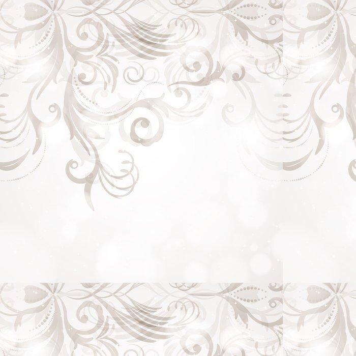 Tapeta Pixerstick Abstraktní květinové pozadí - Pozadí
