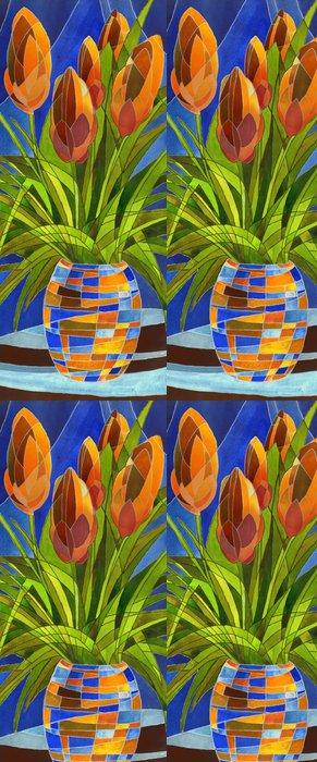 Tapeta Pixerstick Abstraktní květiny ve váze - Umění a tvorba