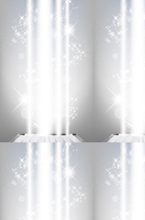 Tapeta Pixerstick Abstraktní lesklé pozadí s paprsky světla a hvězd - Mezinárodní svátky