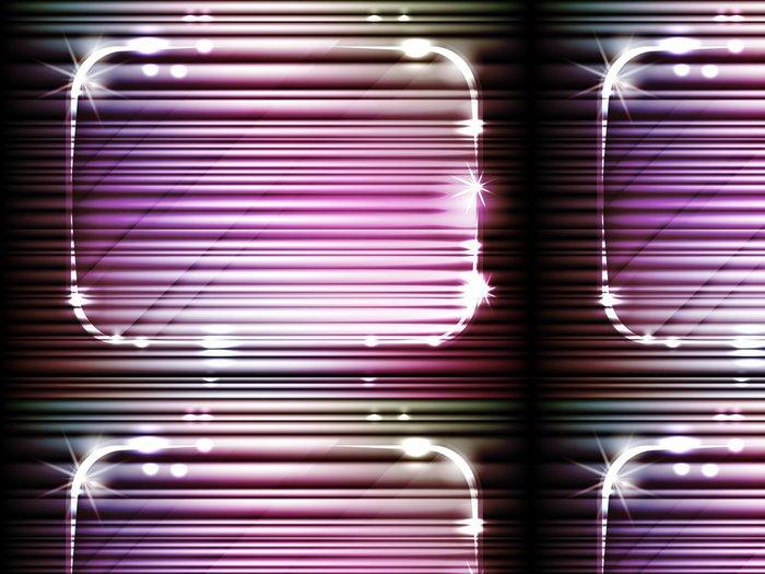 Tapeta Pixerstick Abstraktní noční efekt, vektor - Abstraktní